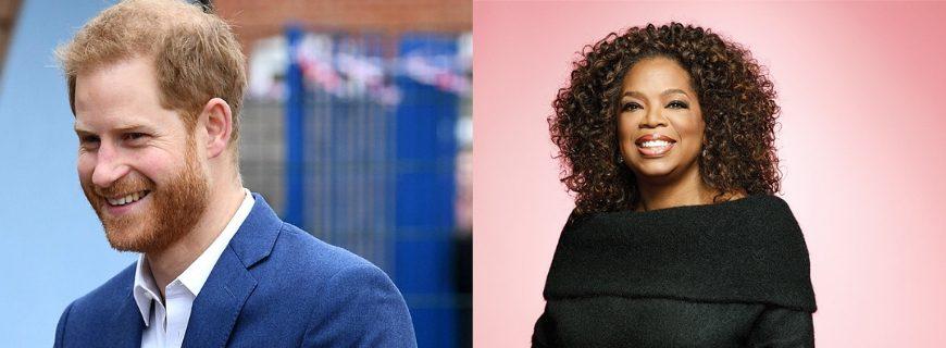 Oprah Winfrey & Prince Harry