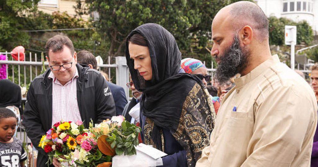 Prime Minister Jacinda Ardern at Memorial Service