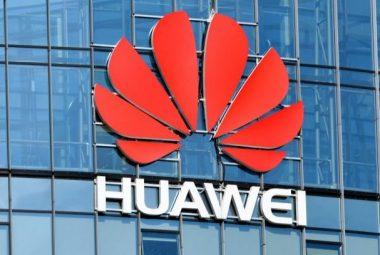 huawei revenue up