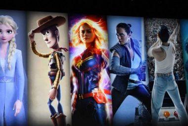 Disney+ films at launch